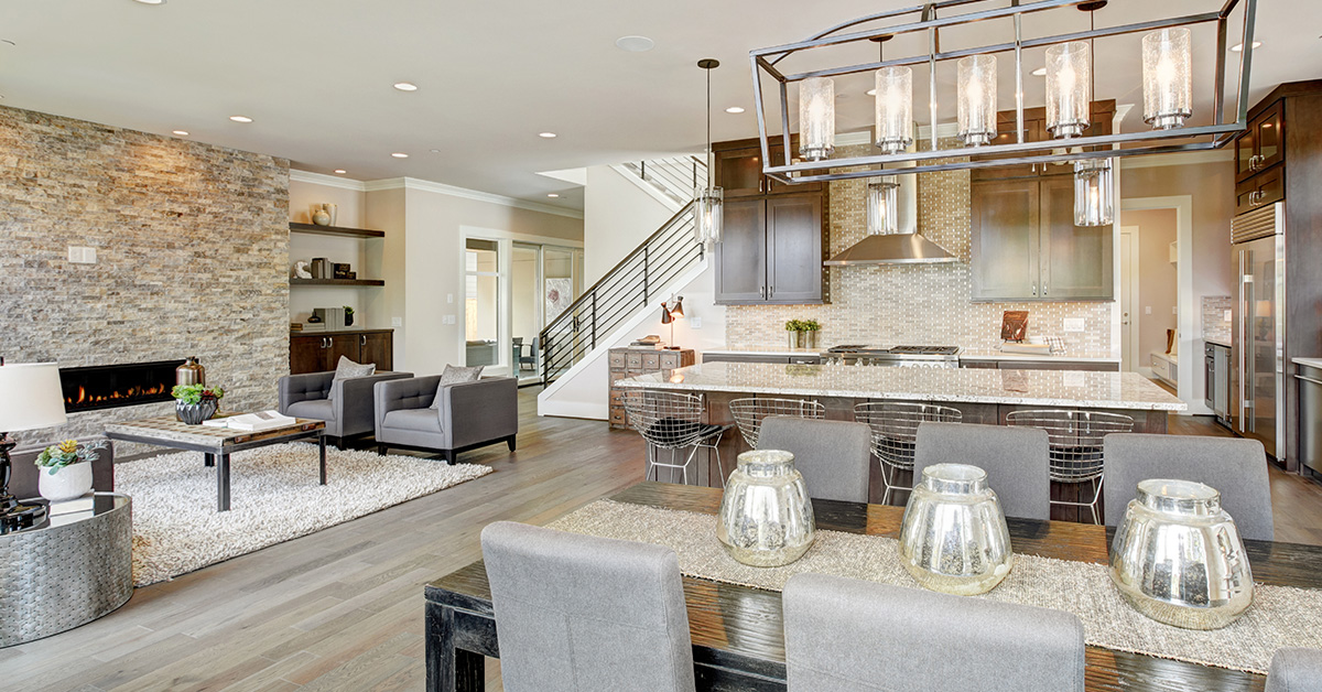 Using Stone to Create a Warm, Contemporary Living Space - Post