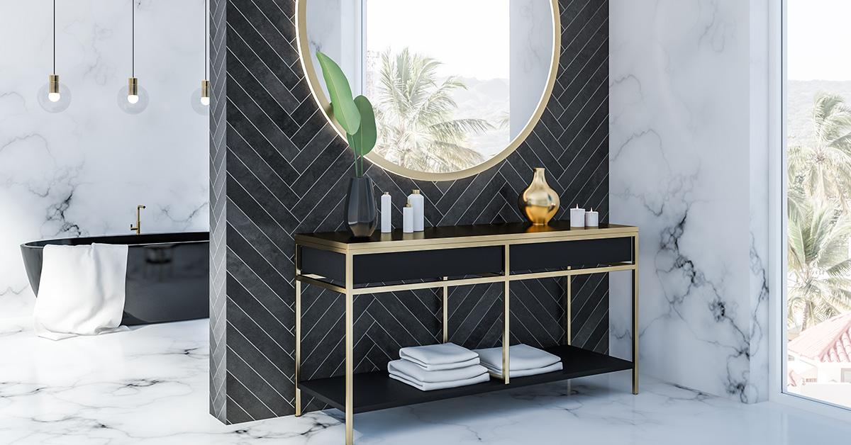 A Modern Marble Bath - Post
