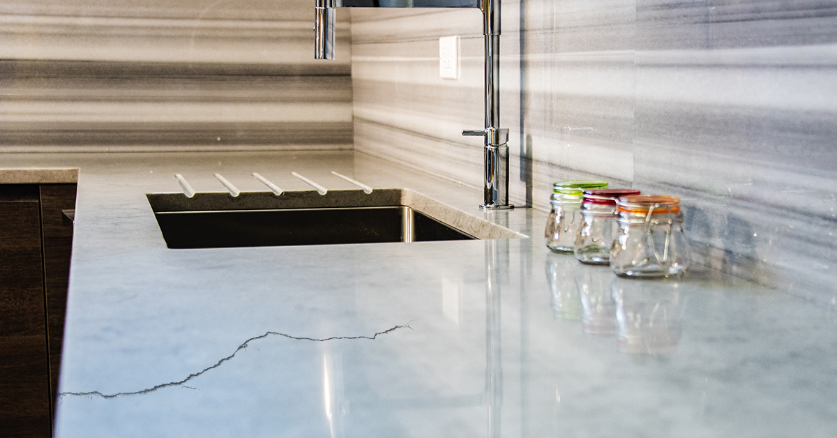 Think Your Cracked Stone Countertop or Floor Is Ruined? Think Again! - Post