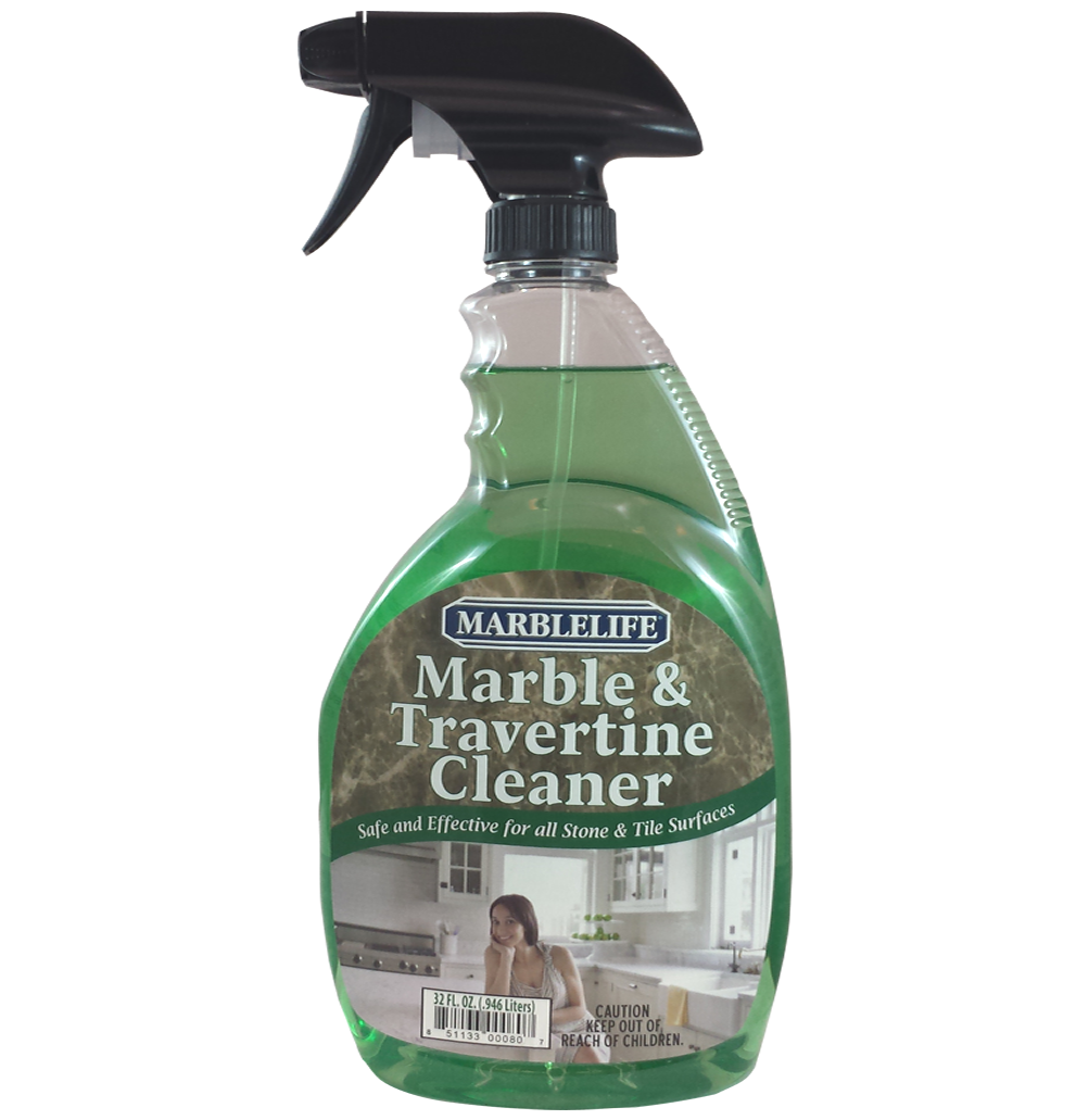 MARBLELIFE® Marble & Travertine InterCare Cleaner 32oz Spray Image